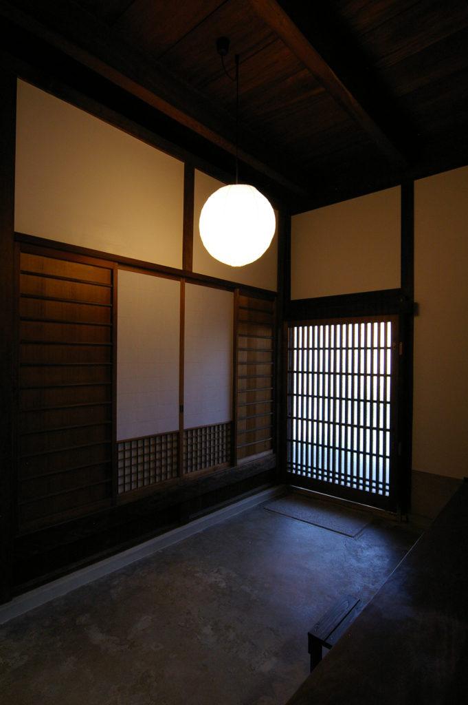 玄関の土間